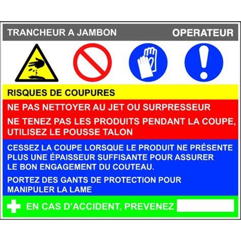 protocole nettoyage bureau fiche de poste trancheur à jambon stocksignes