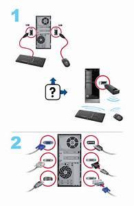Hp Envy 700-214 Desktop Pc Setup Poster