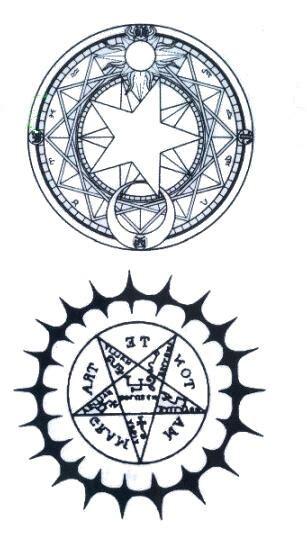 tattoo etoile mandala rosace kolawi