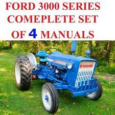 ford tractor parts manual ebay