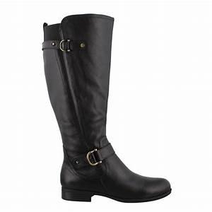 Women 39 S Naturalizer Jillian Calf Boots Wide Width