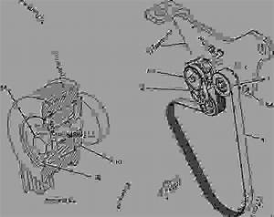 Cat C13 Serpentine Belt Diagram