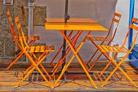 chaises originales folding tables and chairs free stock photo domain