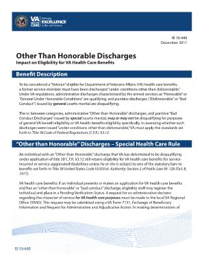 fillable honorable discharge fill printable fillable blank pdffiller