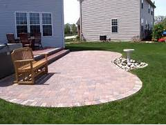 Adding Pavers To Concrete Patio Decorate Paver Patios Archadeck Custom Decks Patios Sunrooms And Porch