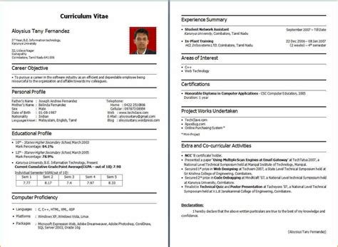 How Write Resume Headline by Fresher S Resume