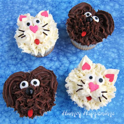 dog cupcakes  cat cupcakes  cute   easy video