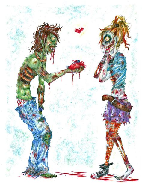 Amor Zombie Zombies Need Love Too Heidibetts Com