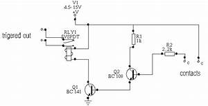 Free Circuit Diagrams  Water To Activated Relay Circuit