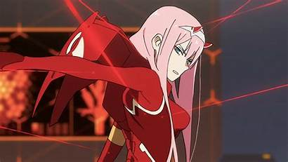Darling Franxx Zero Eyes Horns Pink Hair