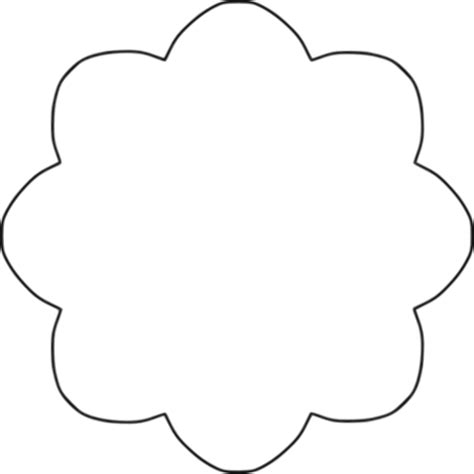 28+ Collection of Shapes Clipart Outline (With images