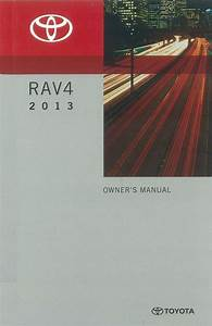 2013 Toyota Rav4 Owners Manual User Guide