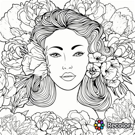 beautiful coloring pages coloring page recolor app beautiful