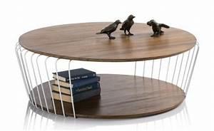 Couchtisch Rund Holz Metall : couchtisch aus holz moderne wohnzimmertische ~ Bigdaddyawards.com Haus und Dekorationen