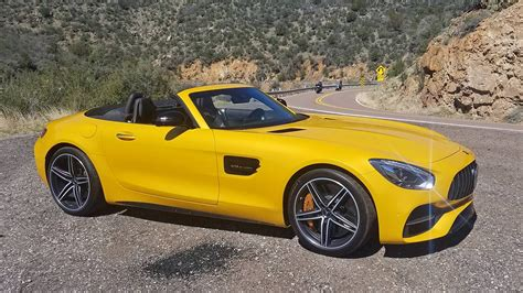 It is equipped with a 7 speed automatic transmission. 2018 Mercedes-AMG GT C Roadster: 7 First Impressions | The Drive