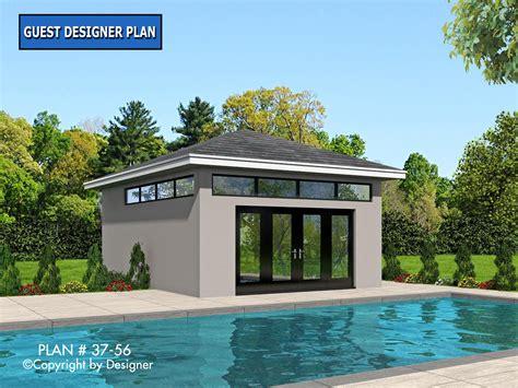 designer house plans pool house plan 37 56 house plans by garrell associates