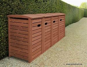 Schuppen Für Mülltonnen : m lltonnenbox hartholz gr n endlackiert 25 jahre garantie m lltonnenbox classic aus fsc ~ Sanjose-hotels-ca.com Haus und Dekorationen