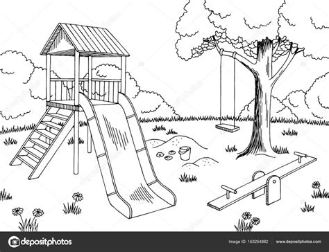 school playground clipart black and white playground black and white www pixshark