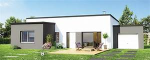 Maison En L Moderne : maison plain pied maison familiale ~ Melissatoandfro.com Idées de Décoration