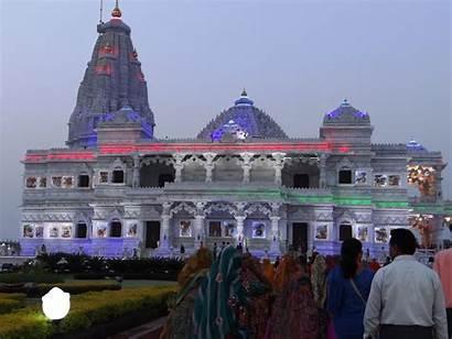 Prem Mandir Vrindavan Mathura Temple Utter Pradesh