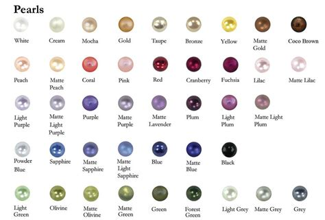 pearl colors irl types of pearls make yourself a pearlsona steven