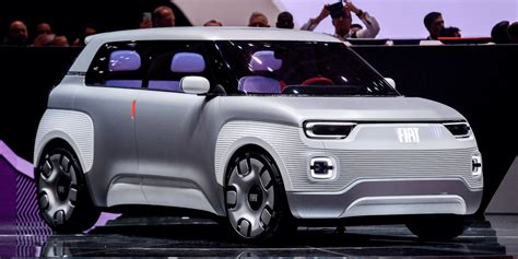 Fiat Electric by Fiat Concept Centoventi Offers Outlook On Electric Panda