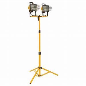 halogen tripod work lamp 2 x 500w 67 3 4quot rona With halogen floor lamp 500w