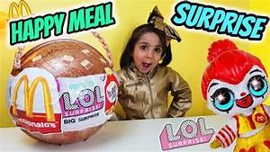 LOL Happy Meal Big Surprise! Custom LOL McDonalds Lol Doll ...