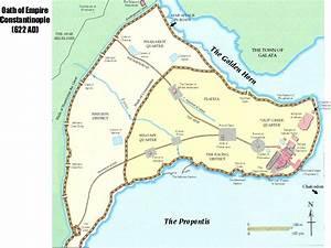 Mapa - Constantinopla en el Siglo VII [Constantinople in ...