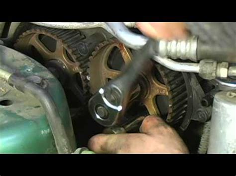timing belt water pump replacement water pump