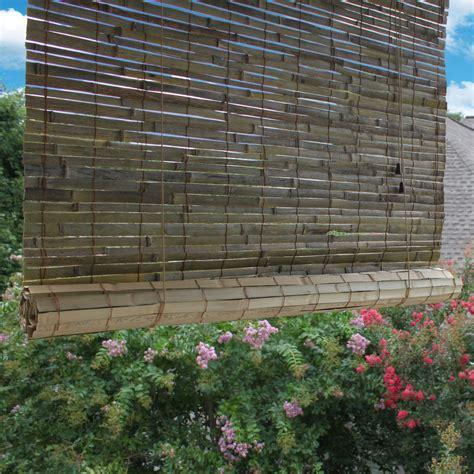 radiance laguna outdoor bamboo rayon roller blind