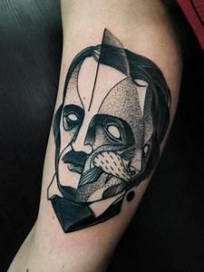 Mini Tattoos Männer : arm dotwork m nner tattoo von michele zingales ~ Frokenaadalensverden.com Haus und Dekorationen