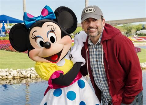 Actor Steve Carell Spotted at Walt Disney World Resort in Orlando   Disney Every Day