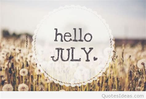 july picture quote