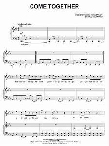 Come Together Partituras Por The Beatles Piano Voz Y Guitarra Mano Derecha Melodia 65829