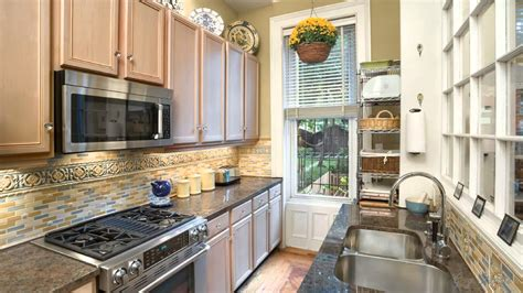 kitchen remodel ideas for small kitchens galley best galley kitchen designs awesome house
