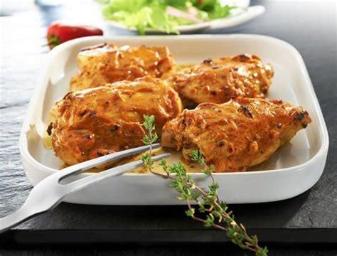 cuisiner les cuisses de poulet hauts de cuisse de poulet sauce diable recette du