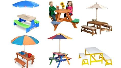 tikes fold  store picnic table directions