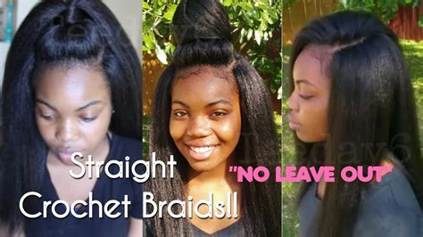 Straight Crochet Braids Never Looked So Natural
