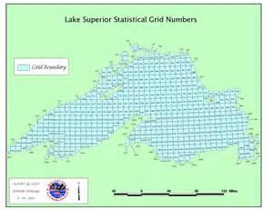 Map Lake Superior Fish Species