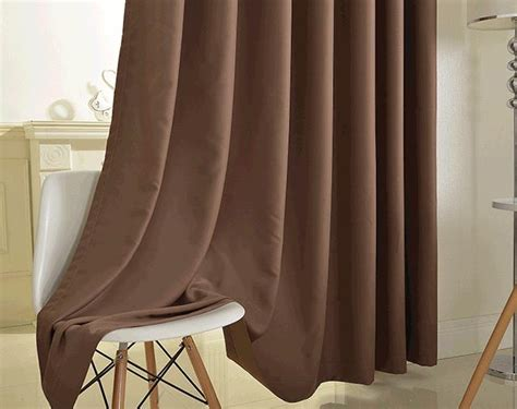 Simple Faux Suede Thermal Room Darkening Hotel Curtains
