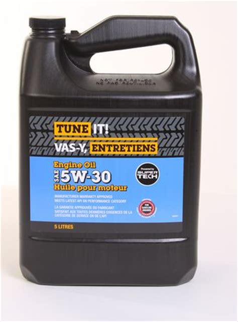 tune it conventional 5w 30 engine oil walmart canada