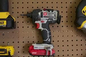 Porter Cable 20v Max 1  4 U0026quot  Hex Impact Driver Kit Pcck640lb