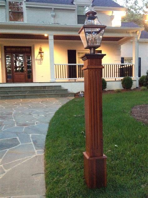 cedar l post to match cedar shingles and red brick grey