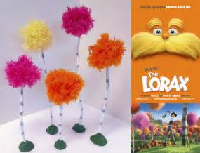 Lorax Trees Art Project