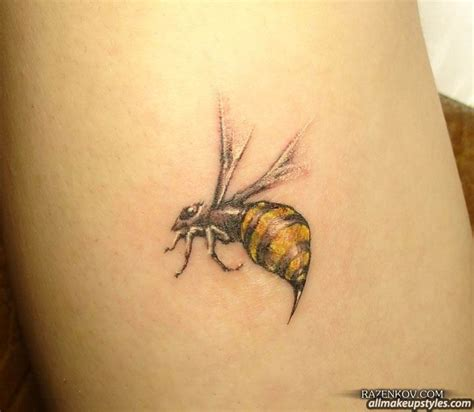 Bee Tattoos and Designs