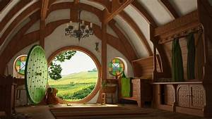 The, Lord, Of, The, Rings, Bag, End, The, Shire, Interiors
