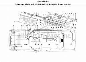 Buy Original Ferrari 400i 102 Electrical System Wiring