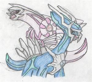 Dialga and palkia by firehorse6 on DeviantArt