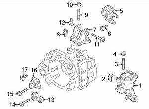 Ford Edge Engine Torque Strut  2 0 Liter  Edge